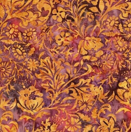 Hand Dyed Cotton Batiks Fabric Collection  6/941